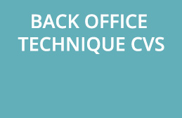BACK OFFICE TECHNIQUE CVS